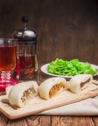 Чинпан из кимчи со свининой