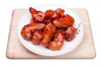 Куриные крылья фрай в соусе