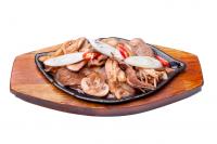 Пулькоги с грибами говядина