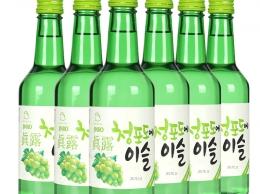 Соджу зеленый виноград